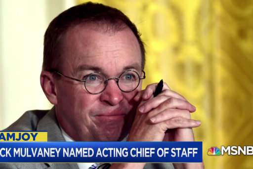 David Corn: At this point I think it doesn't matter who the chief of staff is