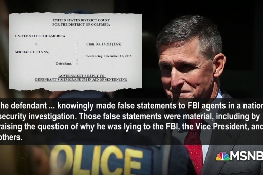 Mueller knocks Flynn for trying to blame FBI for his lying
