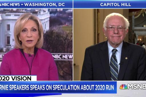 Sanders: 2020 presidential run not an easy decision