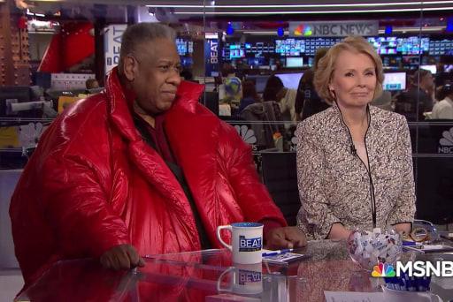 André Leon Talley slams Fox over Trumpian attack on Michelle Obama