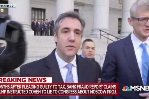 Cohen charge of lying to Congress could set up more from Mueller