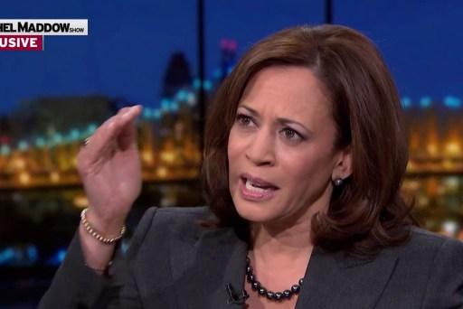 Shutdown over Trump 'vanity project' irresponsible: Sen. Harris
