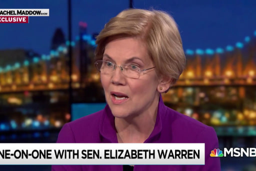 Warren: Endless war in Syria, Afghanistan is not working