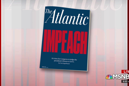 The Atlantic makes the case for impeachment