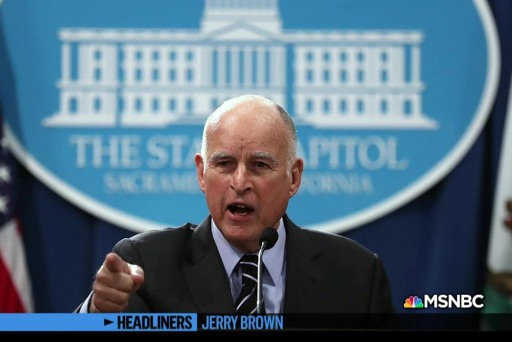 'Headliners: Jerry Brown' The Former Governor versus the President