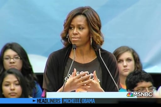 'Headliners: Michelle Obama' Reaching Higher