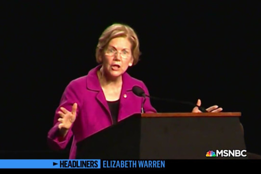 'Headliners: Elizabeth Warren' The Senator Puts the Pressure on Government Officials