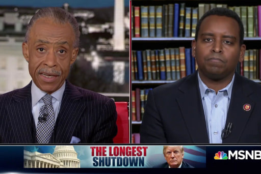 Sharpton's advice for a new congress member