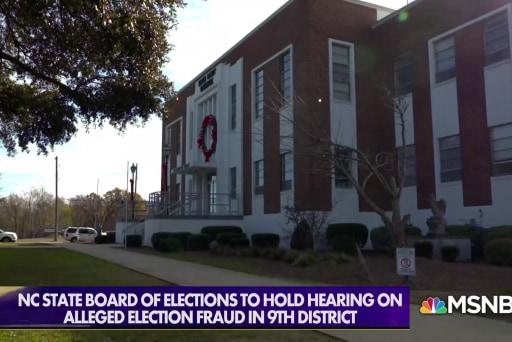 Absentee ballots at center of North Carolina Election Fraud Scandal