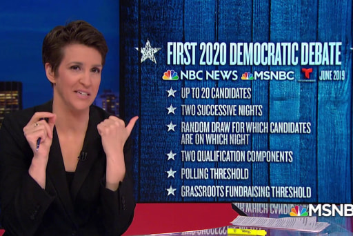 Democrats announce plans for early debates in 2020 campaign
