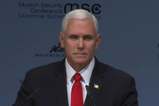 Silence for Pence in Munich speaks volumes of world view of U.S.
