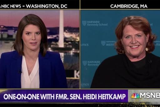 Fmr. Sen. Heitkamp Warns Democrats on Message to Working Americans