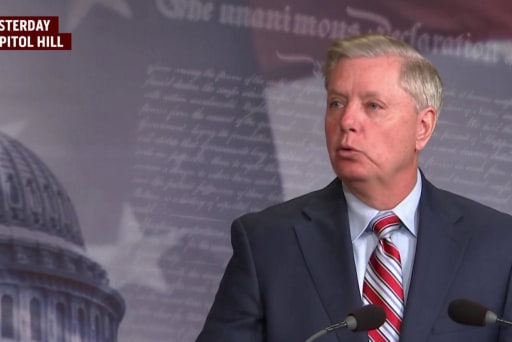 After Trump trashes McCain, Graham opens up about dossier