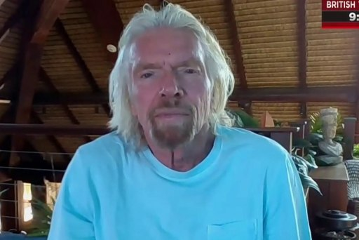 Sir Richard Branson takes on climate change