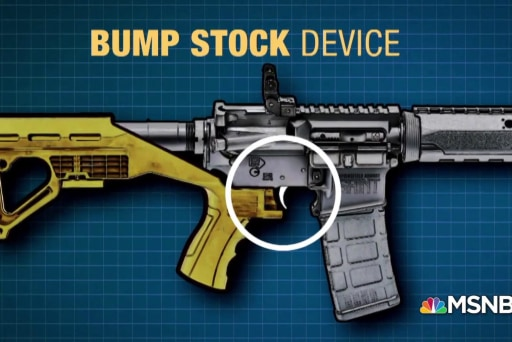 Bump stocks are now illegal in the United States