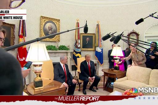 Trump seeking vengeance after the Mueller report lands