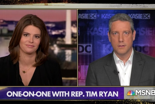 Rep. Tim Ryan: 'Quite frankly, the president is lazy'