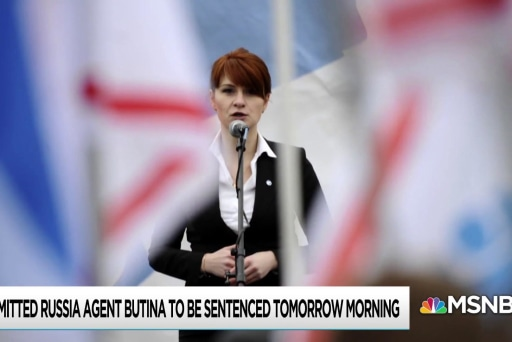 Former top counterintel official comes to Maria Butina's defense
