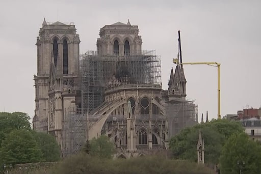 Legendary artifacts spared in Notre Dame Cathedral fire