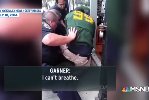 NYPD Officer who killed Eric Garner used forbidden chokehold