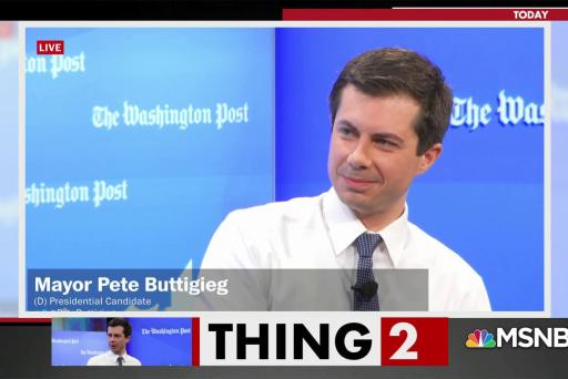 Pete Buttigieg takes on draft dodger Donald Trump