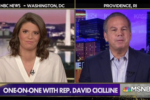 Rep. Cicilline: We shouldn't impeach for political reasons, but we shouldn't refuse to impeach for political reasons