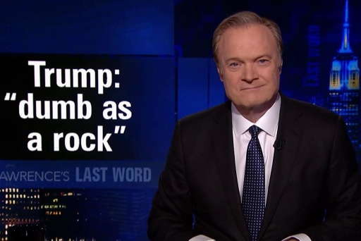 Lawrence's Last Word: Trump calls Tillerson 'dumb as a rock'