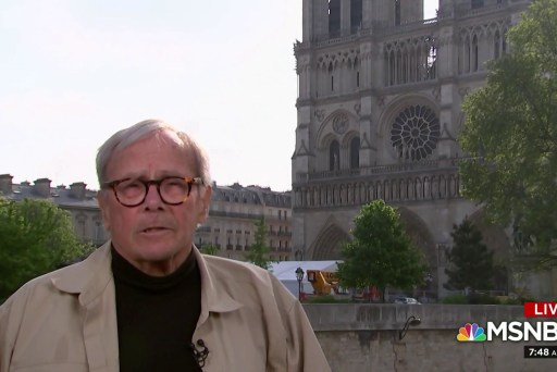Tom Brokaw recalls Nixon at Notre Dame