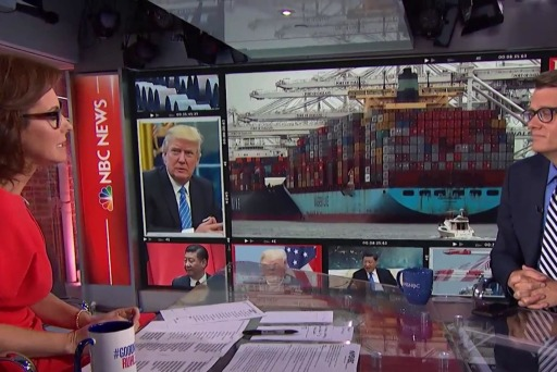 Trump says China would love to make a deal as trade war escalates