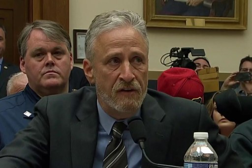 "9/11 responder backs Stewart: ""no question"" GOP blocking money"