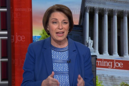 Amy Klobuchar officially maps out first 100 days