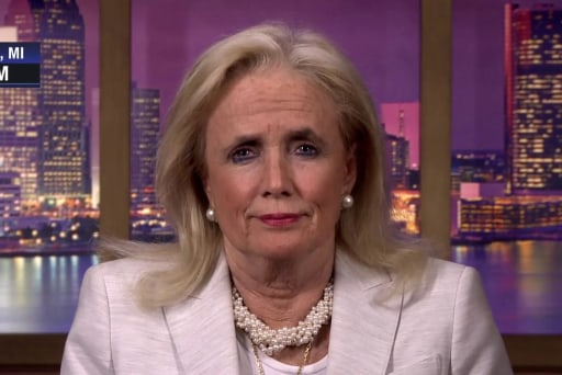 MI Rep. Dingell on healthcare and voters yelling about impeachment