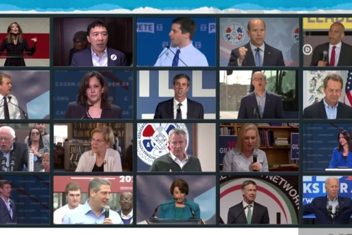 Random groupings add wildcard dynamic to first Democratic debate