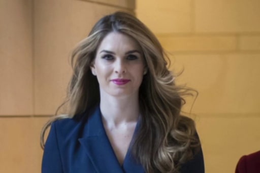 Nadler rejects Trump privilege claims over Hope Hicks testimony