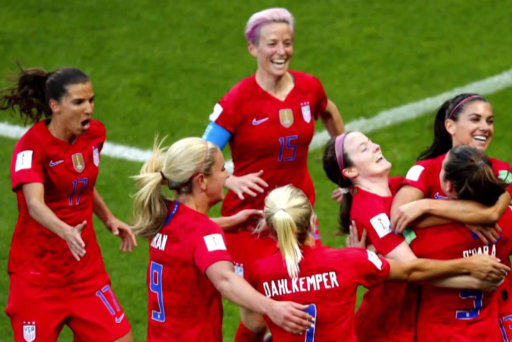 U.S. Women's soccer world cup win fuels support for equal pay