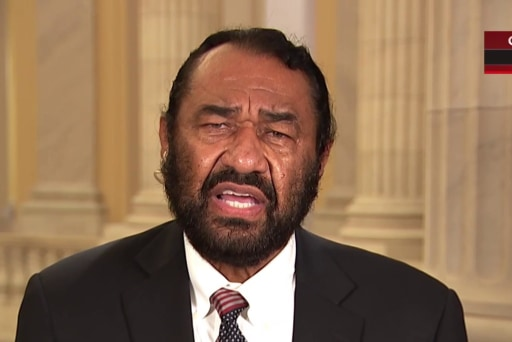 Rep. Al Green introduces articles of impeachment against Trump