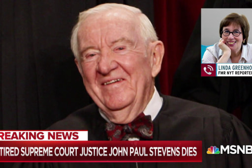 Justice Stevens, a reminder of the way things used to be