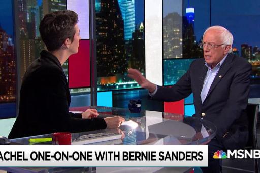 Sanders: No more never-ending wars