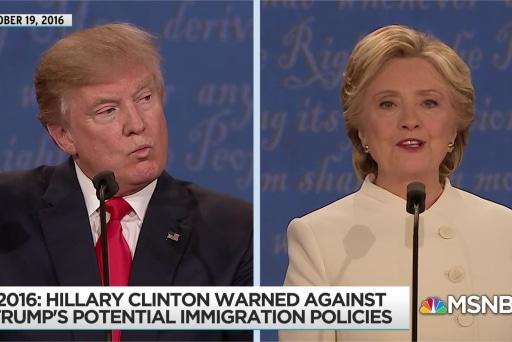 Clinton warning about Trump 'deportation force' proves prescient