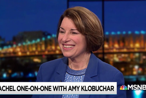 Klobuchar lays out her 'first 100 days' plan: 'no mean tweets'