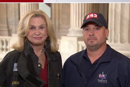 Rep. Maloney and 9/11 First Responder speak ahead of Senate vote on Victim's Fund Bill