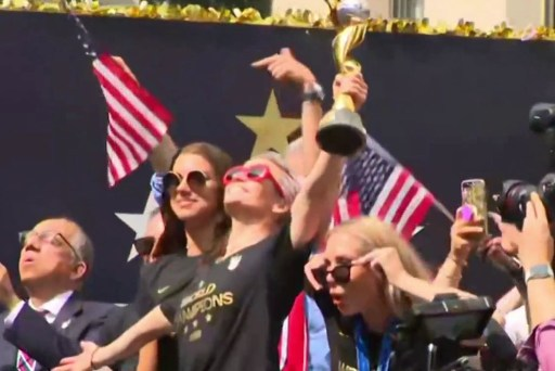NYC celebrates World Cup champions with victory parade