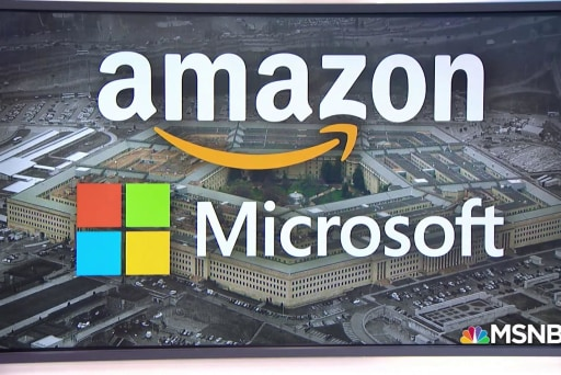 What is the 'war cloud,' and why are tech giants fighting over it?