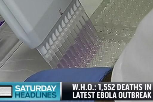 Ebola vaccine to go into trial