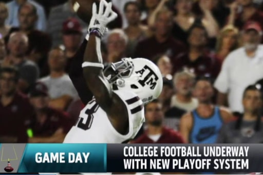 New playoff system for college football