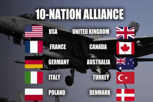 NATO coalition just 'symbolic hug' for Obama?