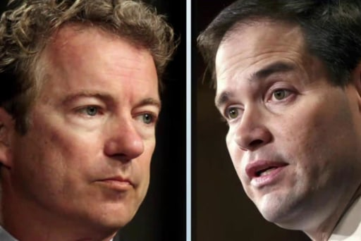 Rand Paul blasts Marco Rubio on Cuba