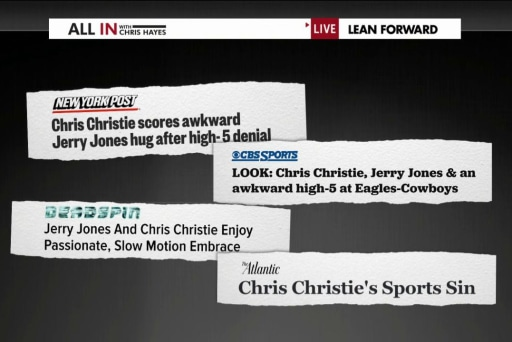 Is Christie's team choice really a big deal?
