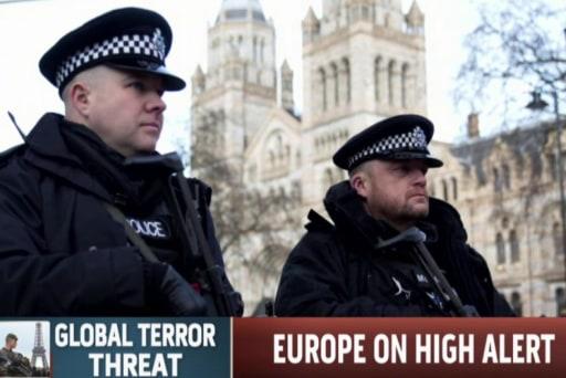 Europe on alert as anti-terror raids continue