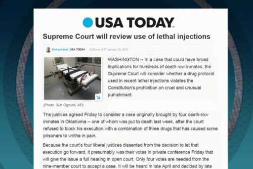SCOTUS to take up lethal injection case